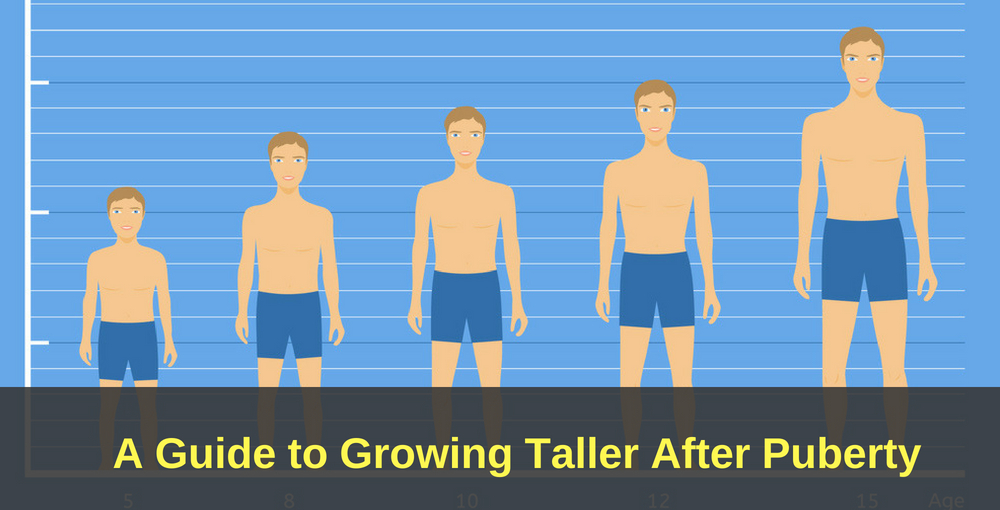 How to Grow Taller After Puberty | Grow Tall After Ages 17, 18 & 20